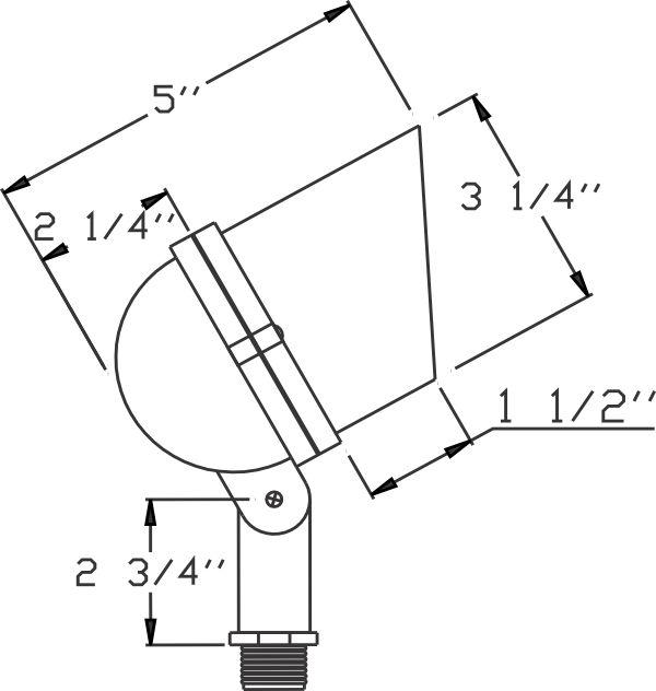 orbit 12v short bullet black mr16 75w max