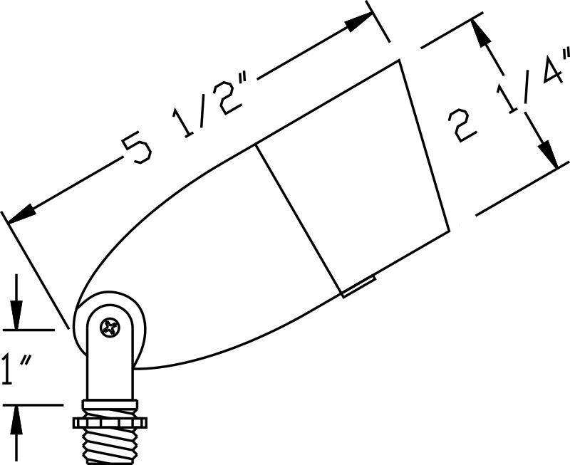 orbit fg1071 12v composite directional fiberglass bullet