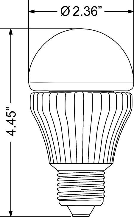 la19-7w - led light bulbs