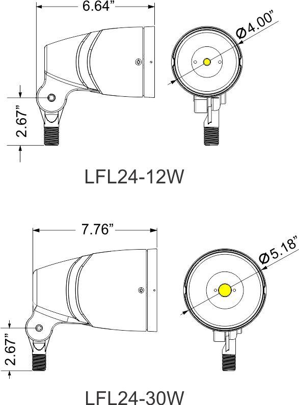 lfl24 - led flood lighting