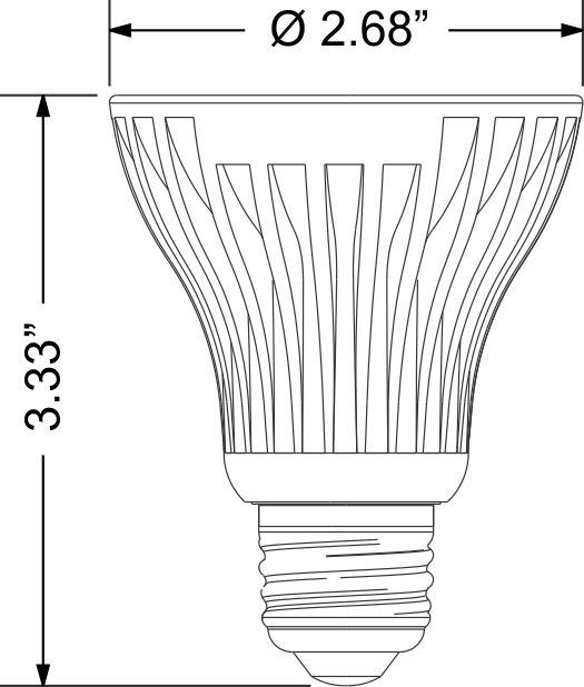 lpar20-8w-d - led light bulbs