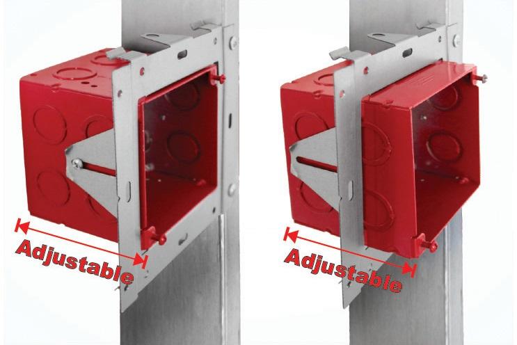 FA-UMAB installed directly on stud