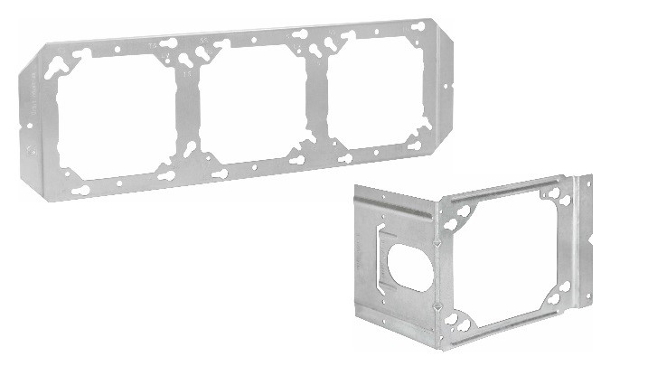 Fixed Position Box Mounting Bracket & Box Mounting Adapter