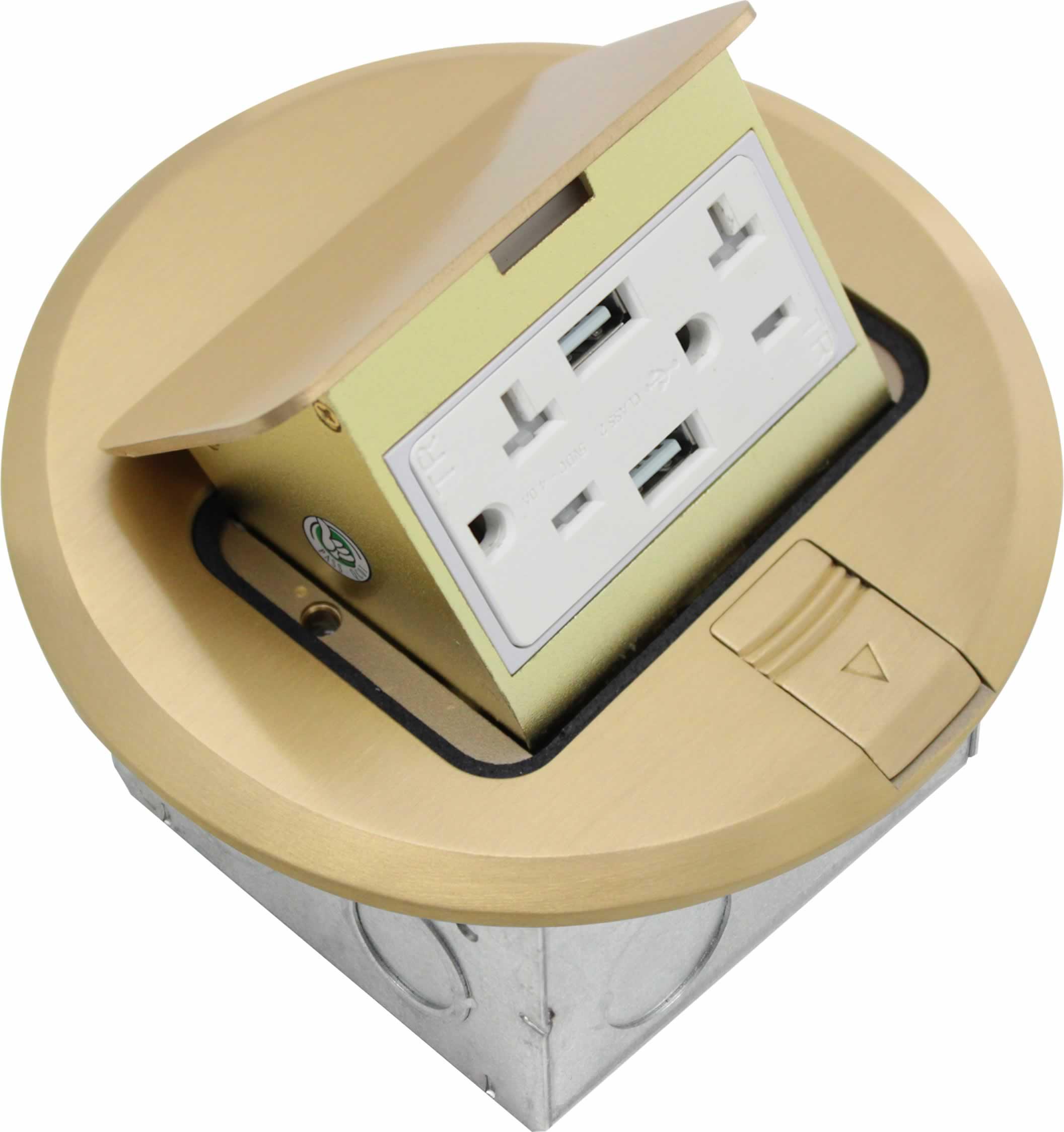 USB Floor Box
