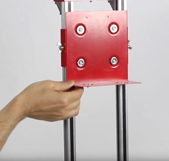 Hand adjusting HABIT platform
