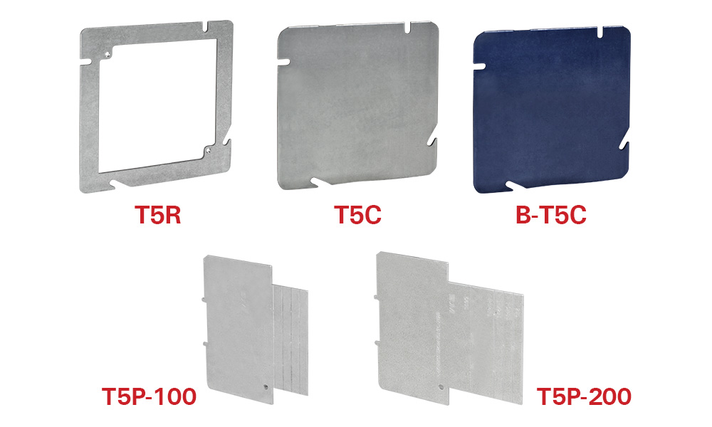 "True 5"" Square Box Accessories"