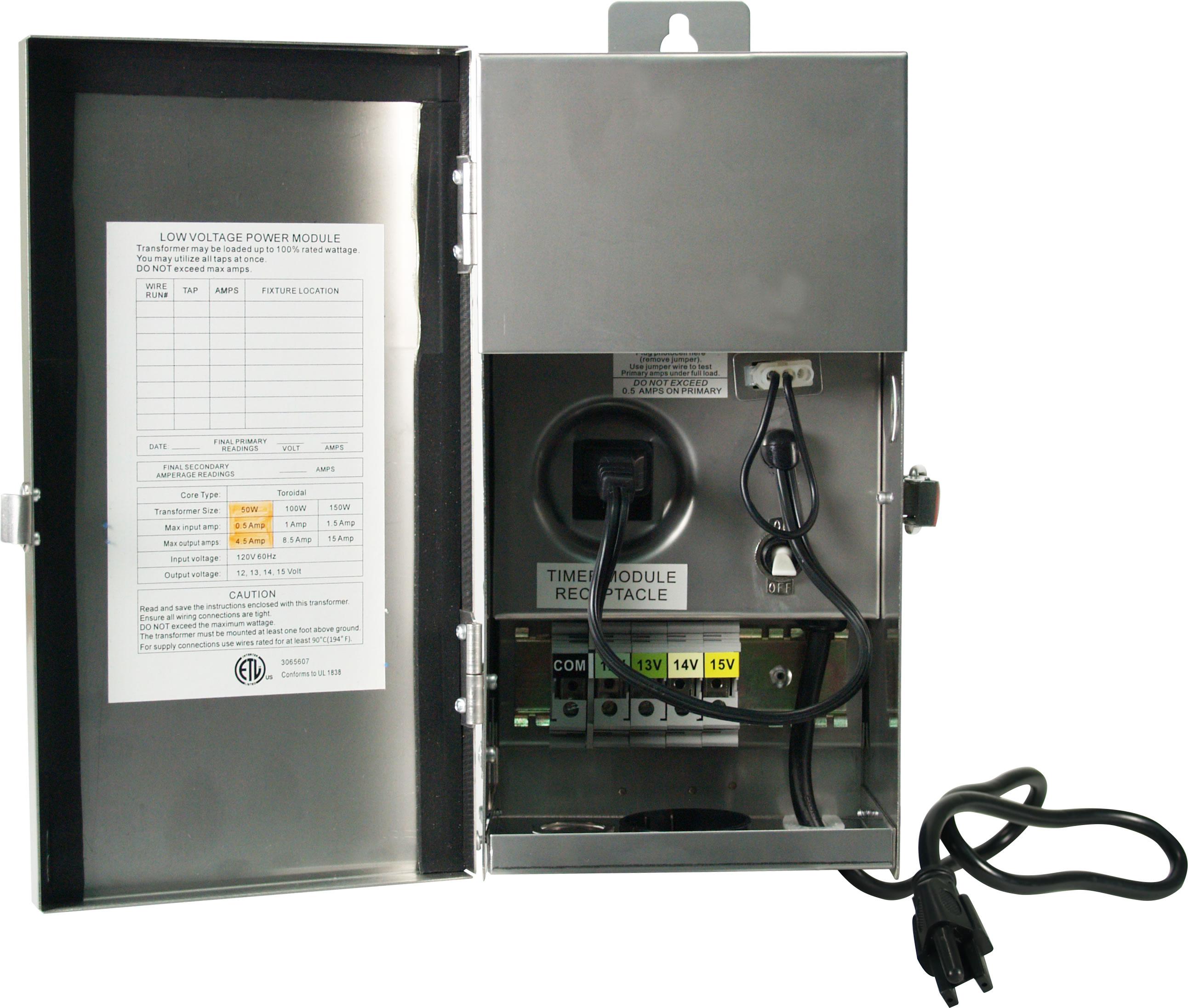 New Low Voltage Landscape Lighting Transformer