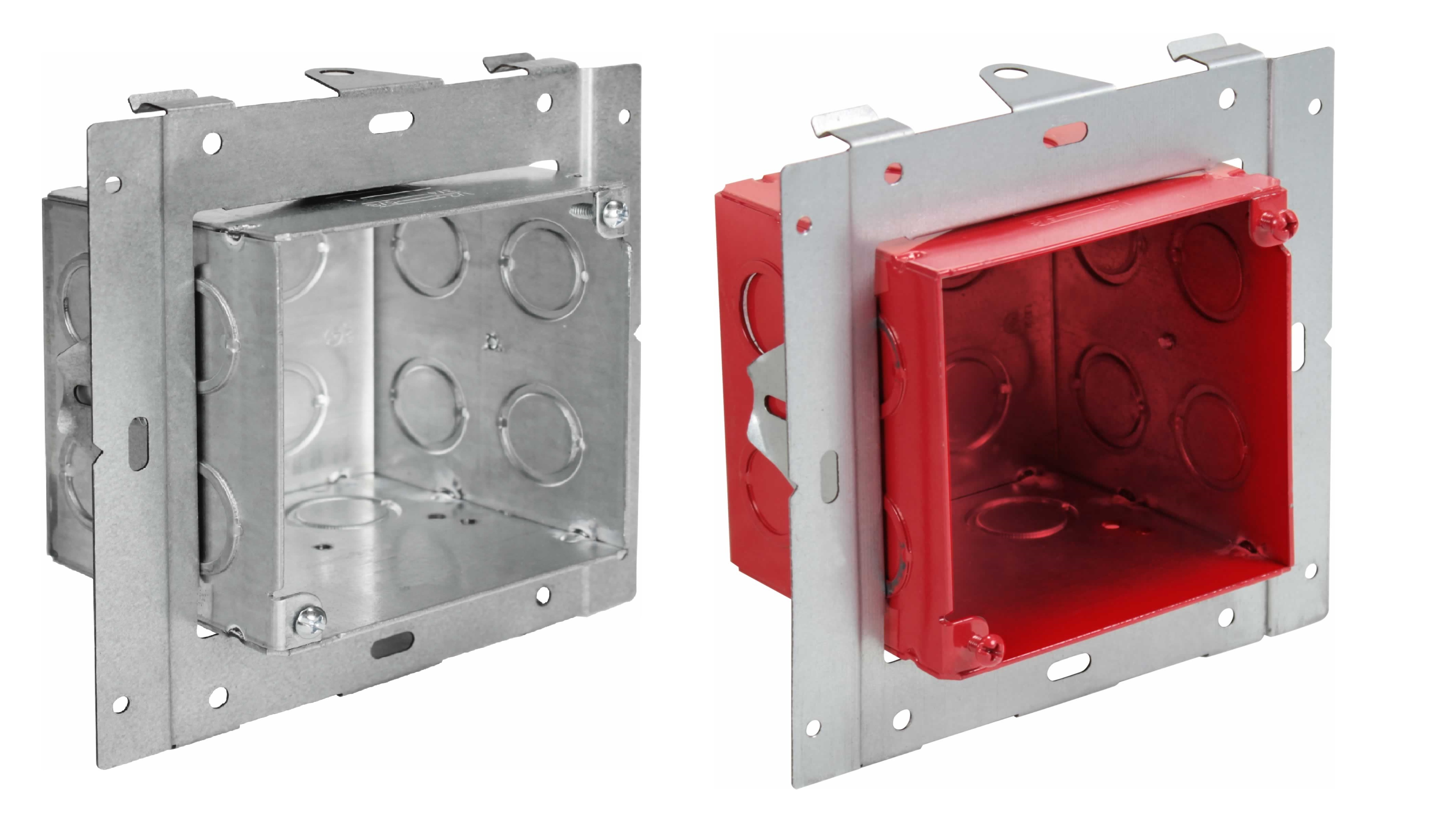Universal Mounting Adjustable Boxes, UMAB and FA-UMAB