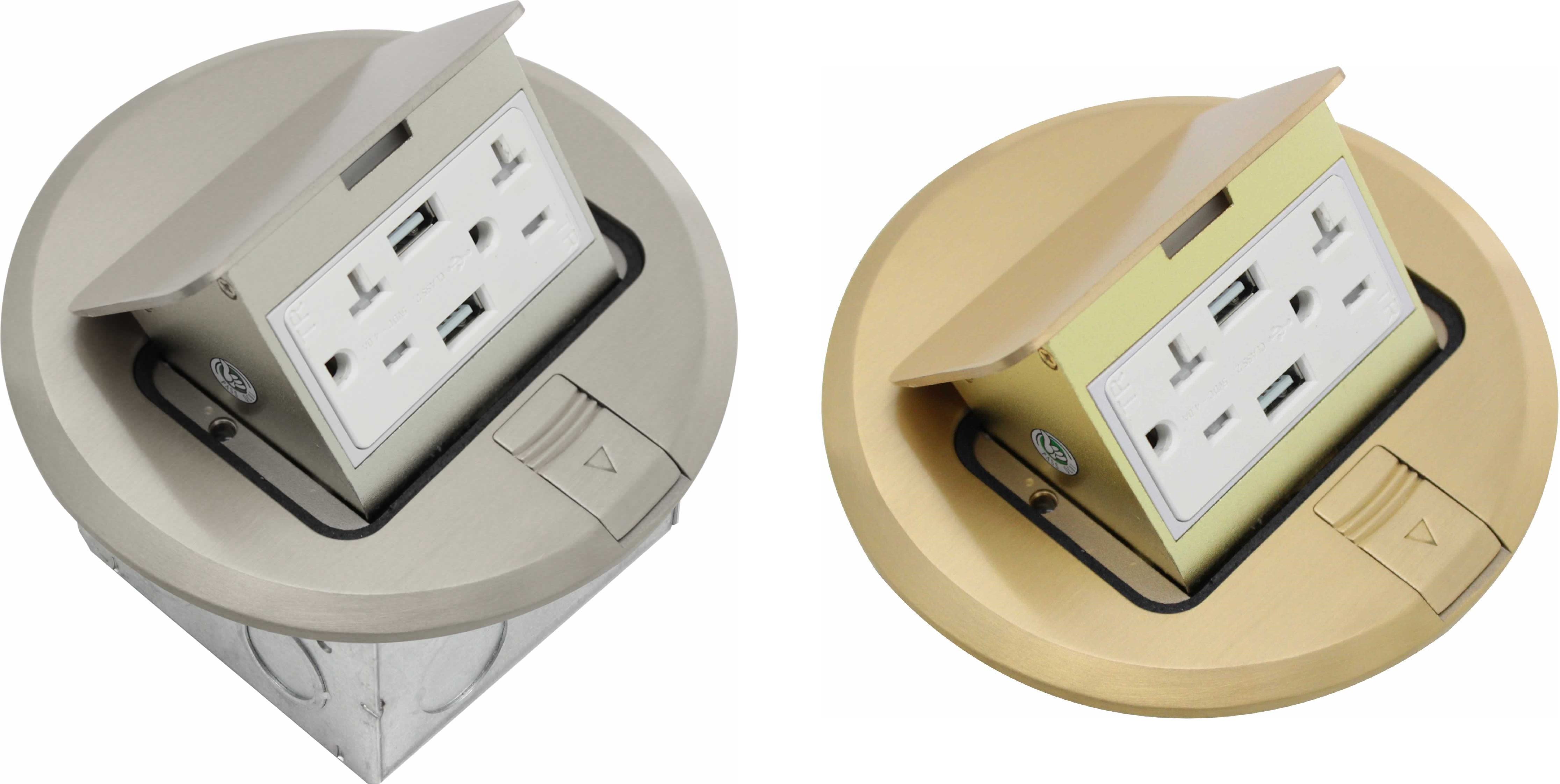 Blog - USB Receptacle Pop-Up Floor Boxes